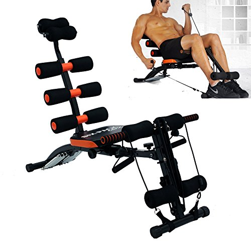 LD Ozoy Six Pack Abs Exerciser Machine for Exercise and Fitnes