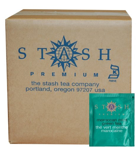 int Green Tea, 100 Count Box of Tea Bags in Foil (packaging may vary) (Aromatic Mint)