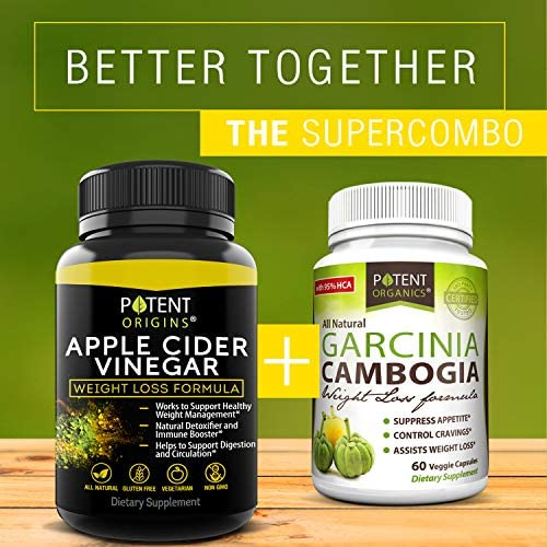 100% Natural Apple Cider Vinegar - 90 Capsules for Healthy Diet & Weight Loss- Pure, Raw, Vegan and Non-GMO - Helps Digestion - Made in USA - Add to Garcinia Cambogia and Your Diet Kits & Systems 9