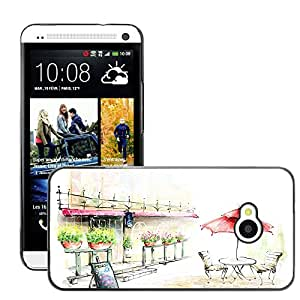 Hot Style Cell Phone PC Hard Case Cover // M00045049 digital drawings art 2d artistic 6 // HTC One M7