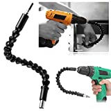 Yosoo Flexible Extention Screwdriver Drill Bit Holder with Magnetic Quick Connect Drive Shaft Tip