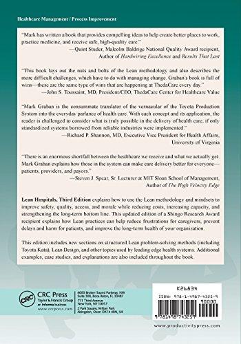 Lean Hospitals Book