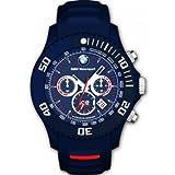 Genuine BMW Motorsport ICE Chronograph Watch, Blue