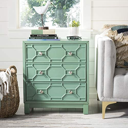 Safavieh Home Collection Izumi Turquoise 3 Chest of Drawers