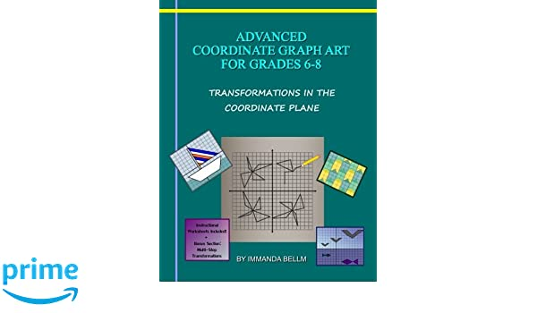 Counting Number worksheets graphing coordinates pictures worksheets : Amazon.com: Advanced Coordinate Graph Art for Grades 6-8 ...