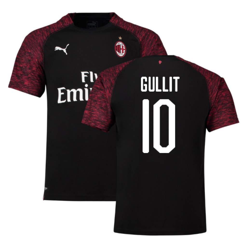 2018-19 Ac Milan Third Football Soccer T-Shirt Trikot (Ruud Gullit 10)