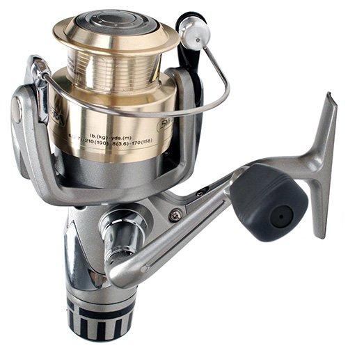 Daiwa Sweepfire Rear Drag Spinning Fishing Reel (Silver, 3550)