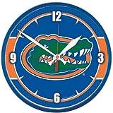 NCAA 2915712 University of Florida Round Wall Clock, 12.75''