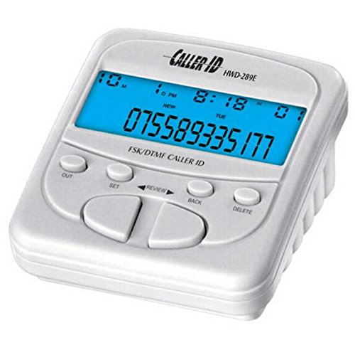 Display Double Box - OLLGEN Dual Signal FSK/DTMF Phone Call Box Caller ID Display without Call Blocker (White)