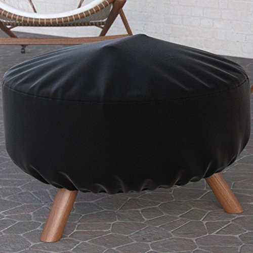 Regal Flame Universal 32 Inch Diameter Fire Pit Outdoor Round Cover by Regal Flame