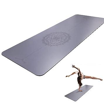 Grist CC Colchoneta De Yoga Caucho Natural Esterilla De Yoga ...