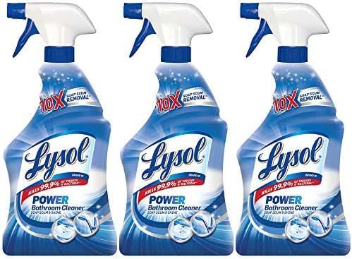 Bathroom Cleaner: Lysol Power Bathroom