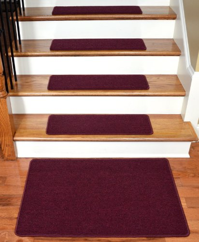 dean-serged-diy-carpet-stair-treads-27-x-9-mulberry-set-of-13-plus-a-matching-2-x-3-landing-mat