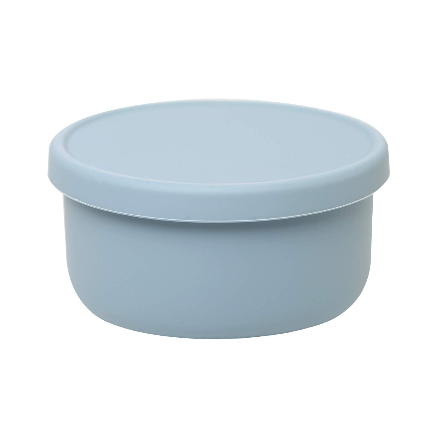 Silicone Baby Food Storage Freezer Containers with Lids  BPA-Free Airtight Leak-Proof Baby Food Jars   Dishwasher, Microwave, Refrigerator Safe,23.67OZ,Grey