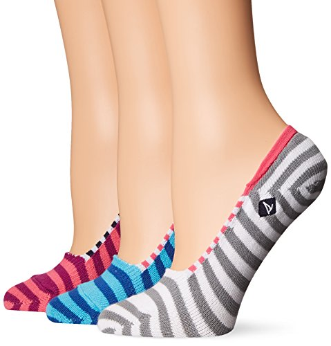 Womens Neon Liner Socks - Sperry Top-Sider Women's 3 Pack Skimmer Liner Socks, Assorted Pink Neon, 9-11