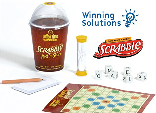 Scrabble Roll 'N Score Coffee Time Game