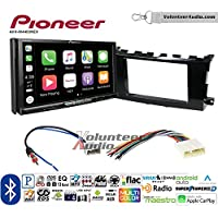 Volunteer Audio Pioneer AVH-W4400NEX Double Din Radio Install Kit with Wireless Apple CarPlay, Android Auto, Bluetooth Fits 2013-2015 Nissan Altima