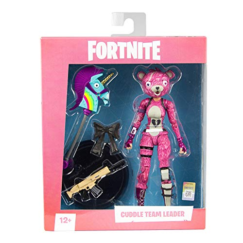 Mcfarlane Toys Fortnite Cuddle Team Leader Premium Action Figure, Multicolor