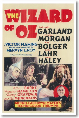 (PosterEnvy New Vintag Wizard of Oz Movie Poster)
