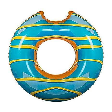 Eurowebb Flotador Hinchable XXL en Forma de Donut - Flotador Gigante Enorme para la Mar y Piscina: Amazon.es: Electrónica
