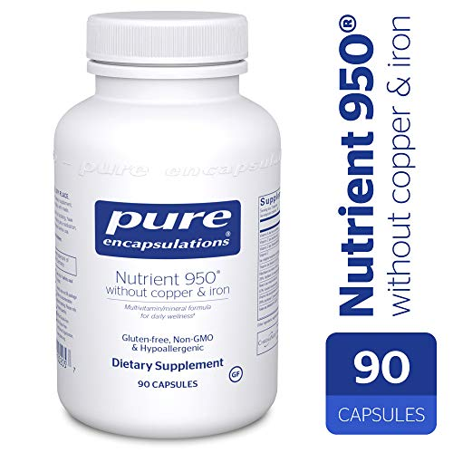 Nutrient 950 No Copper No Iron - 90 Capsules Pure Encapsulat