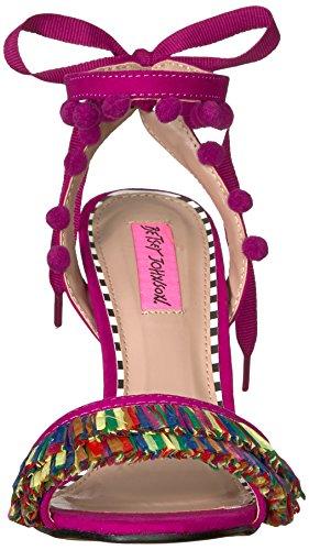 Betsey Heeled Johnson Women's Sandal Magenta Rina Multi SqSrFxvtwZ