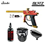 Cheap MAddog Azodin Blitz 3 Beginner HPA Paintball Gun Package – Orange