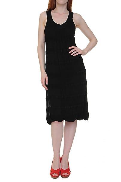 Hugo Boss Naranja vestido de mujer vestido de cóctel llewa, color: negro negro 40