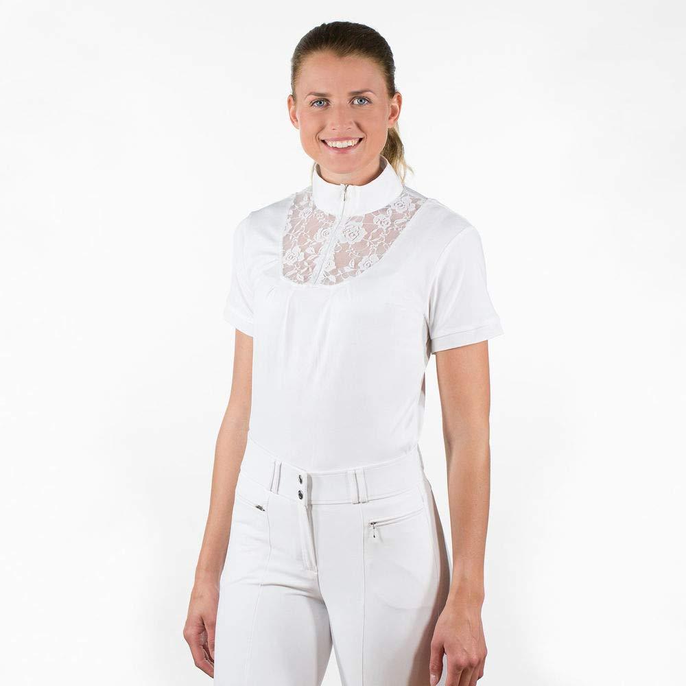 【国際ブランド】 HorzeレディースUVクイックドライlace-detail Show Show Shirt ホワイト Withジッパー襟に B079Y51X6H B079Y51X6H 10 ホワイト ホワイト 10, ベストスクエア:af66c8ef --- svecha37.ru