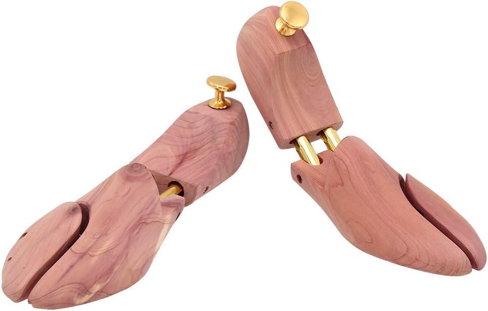 Hengda taglia 42//43 2 paia di tendiscarpe in legno di cedro canadese da uomo//donna