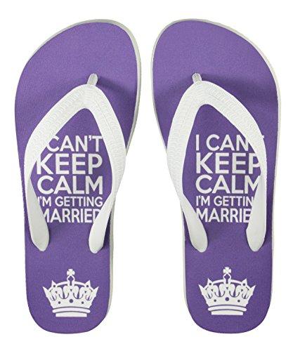 """Hochzeits-Sandalen im Design """"I Can't Keep Calm, I'm Getting Married"""" - Wedding Kollektion palupas"""