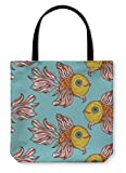 Gear New Shoulder Tote Hand Bag, Nice Colorful Fish Pattern Image, 18x18, 3696364GN
