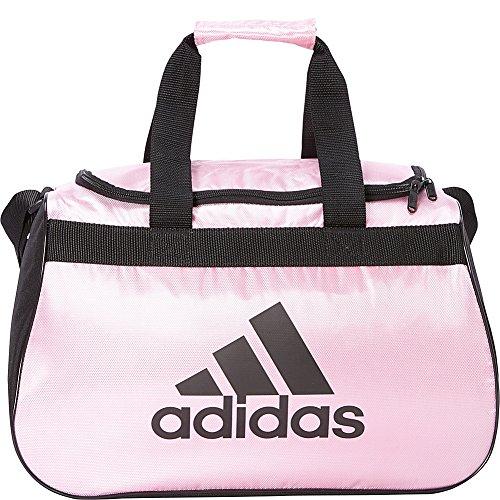 adidas Limited Edition Diablo Small Duffel Gym Bag in Bold Colors - (Gala Pink/Black)