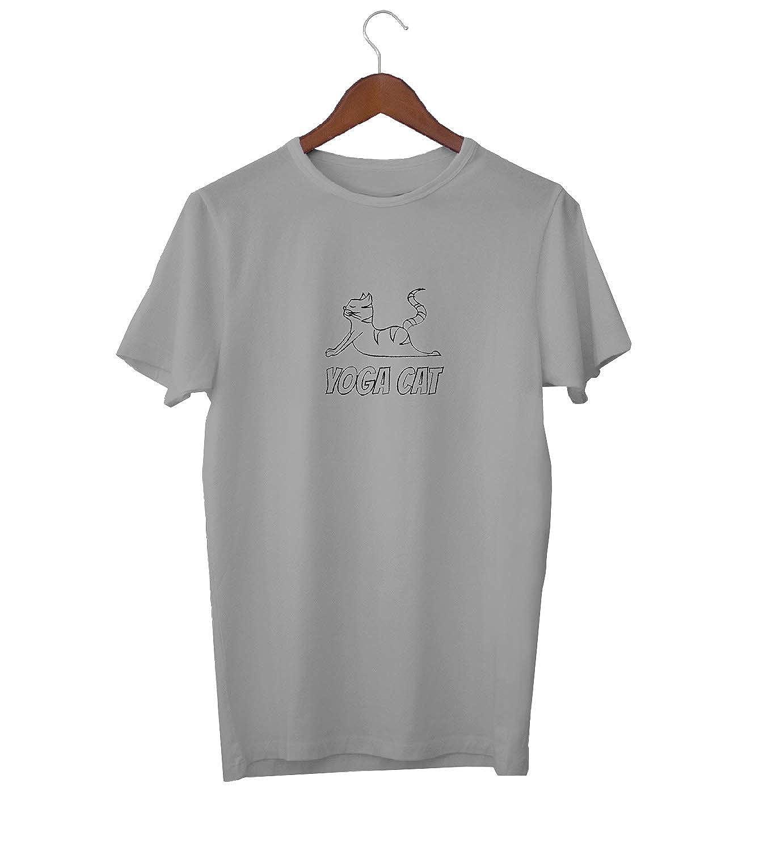 Yoga Cat Fitness Animal Lovers_KK016148 Shirt T-Shirt para ...