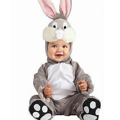 Mono de una Pieza para Disfraz de Animal para bebé, Unisex. Gris ...