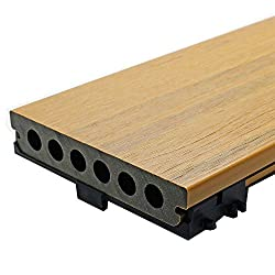 NewTechWood Deck-A-Floor Pro 13.4 sq. ft. Composite Decking Kit in English Oak