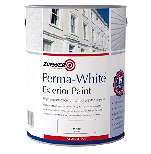 Zinsser Perma White Exterior Semi Gloss 2.5 LITRES ZN7220001C1