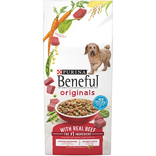 Beef Meal Barley (Purina Beneful Originals With Real Beef Dry Dog Food - 15.5 lb. Bag)