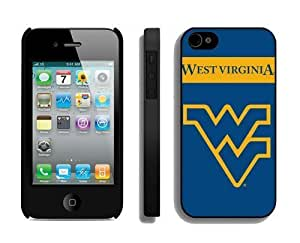 Cool Phone Mate Protector Personalized Cases for Iphone 4s Designer Iphone 4 Cover Cell Phone Accessories West Virginia Mountaineers 3
