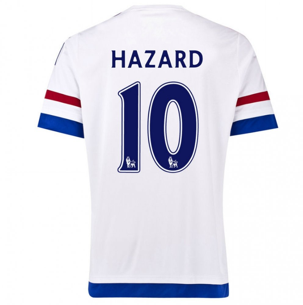 2015-2016 Chelsea Away Football Soccer T-Shirt Trikot (Eden Hazard 10) - Kids