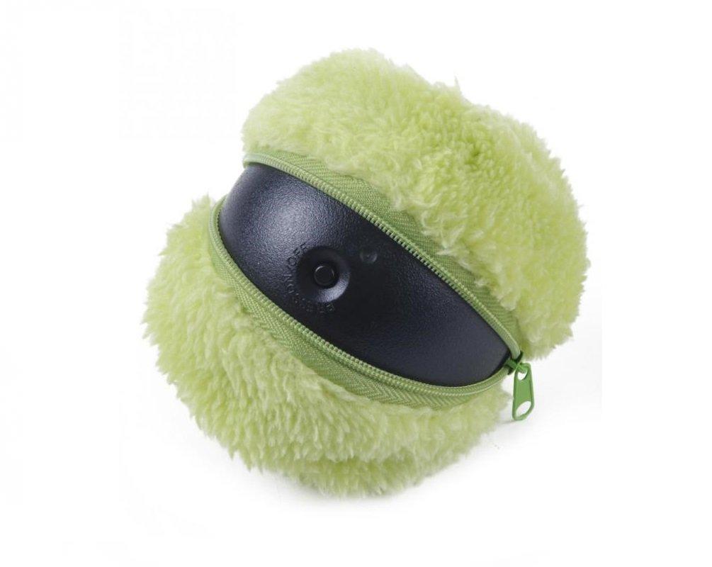 Aspirapolvere Mop Ball MOCORO Mini Robot con Panni in Microfibra Cattura Polvere Fair