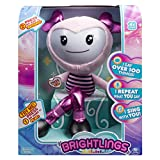 """Brightlings, Interactive Singing, Talking 15"""" Plush, by Spin Master - Pink"""