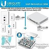 Ubiquiti UAP-IW-5 (5-Pack) UniFi + US-8-150W PoE+ Gigabit 8-Ports Switch SFP