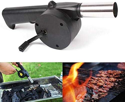 Leikance Souffleur à air portable pour barbecue d'extérieur