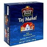 Brooke Bond Taj Mahal Tea Bags, 100-Count Boxes (Pack of 6)