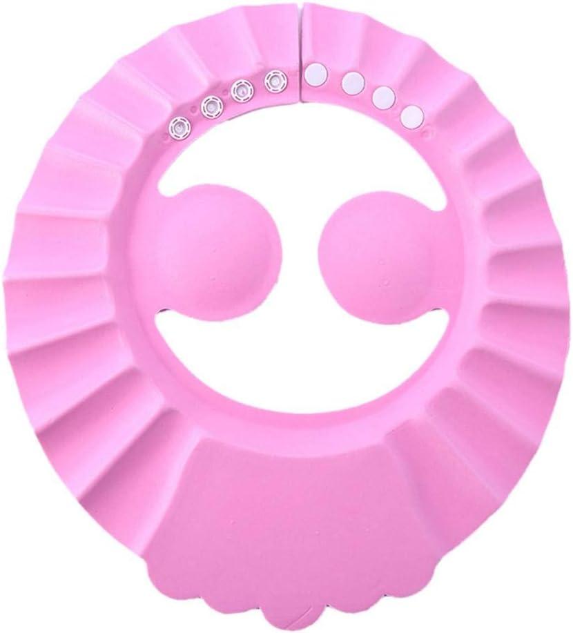Aiming Einstellbare Baby-Kind-Kleinkind-Haarw/äsche Hat Shampoo-Bad-Bade Dusche-Schild-Schutz Baby-Schirm Geh/örschutz Cap