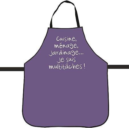 Tablier De Cuisine Imprime Fun Slogan Humour Pvc Special Anti