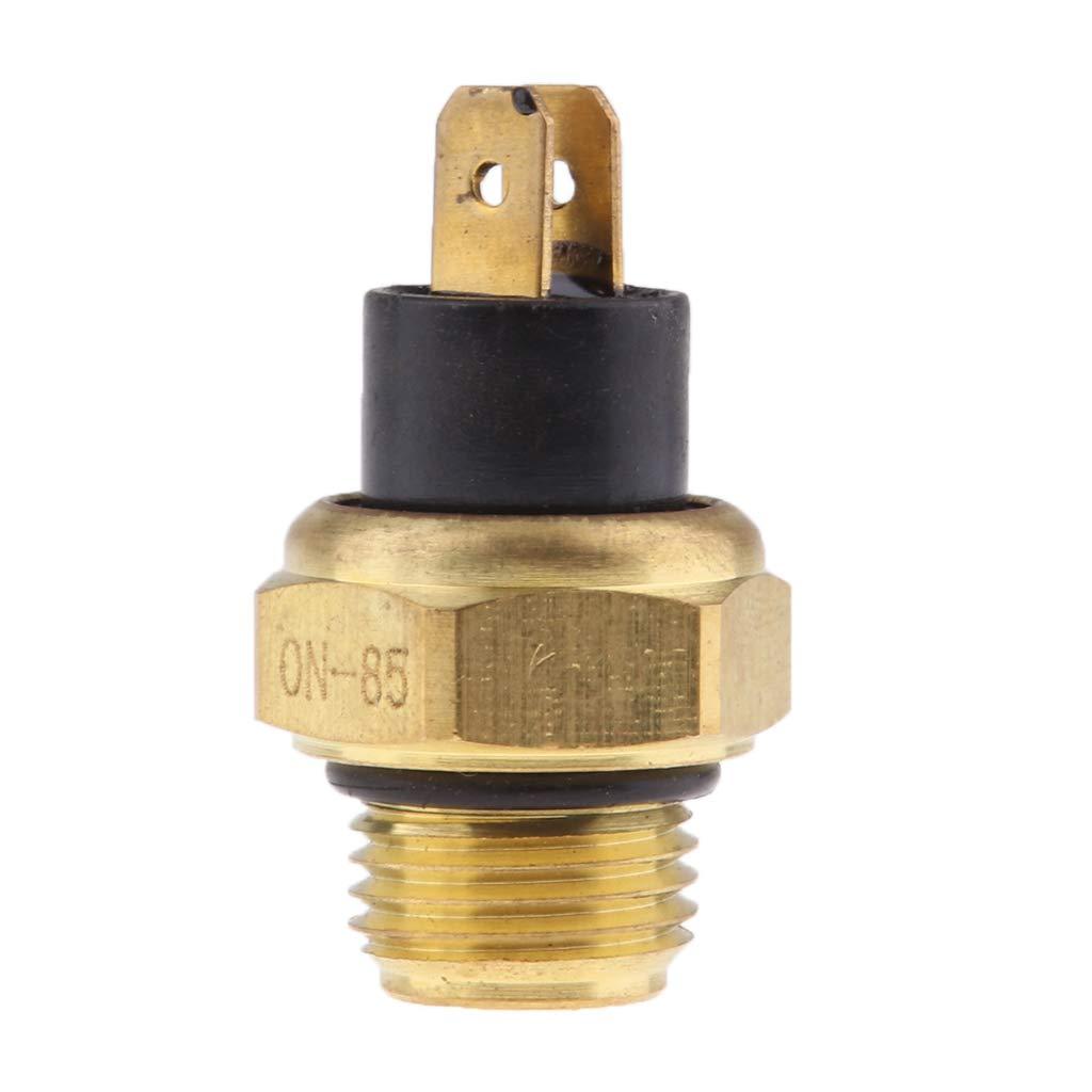 perfk 1 St/ück M16 K/ühlerl/üfterschalter Wasser-Temperatur-Sensor Ersatz f/ür K/ühlerl/üfterschalter