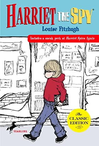 book cover of Harriet the Spy