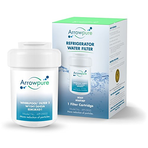 Arrowpure Refrigerator Water Filter Replacement for GE MWF SmartWater, MWFA, MWFP, GWF, GWFA, Kenmore 9991,46-9991, 469991, 1 Pack